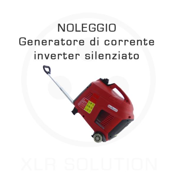 XLR SOLUTION - Noleggio ELETTRONICA - Generatore di corrente inverter silenziato -