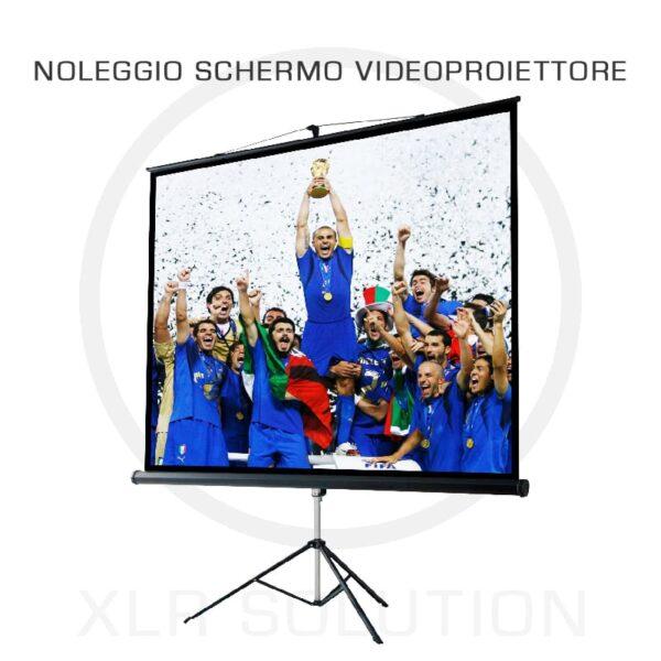 Noleggio Schermo Videoproiettore Milano, XLR SOLUTION, noleggio videoproiettore