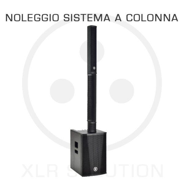 noleggio sistema a colonna